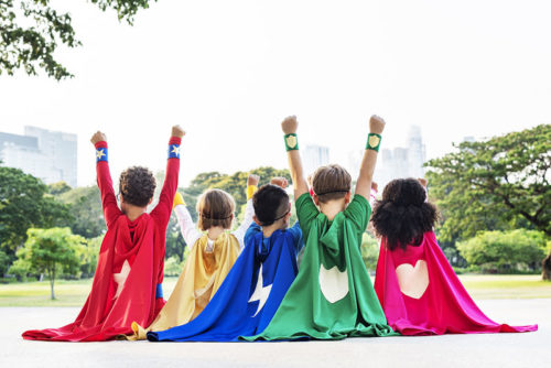 Enfants Super Héros